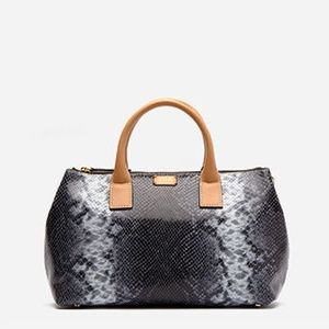 Handbags - Frances Valentine Snake Leather Roccia Bag